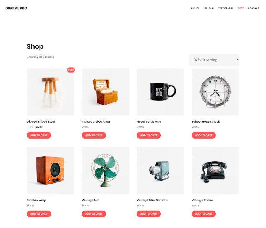 Tienda en Digital Pro theme