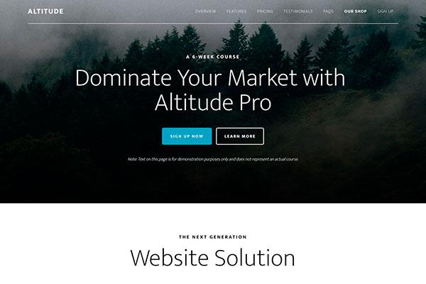 Altitude Pro theme