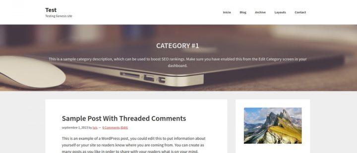 Cabecera de página de categoría con imagen de fondo
