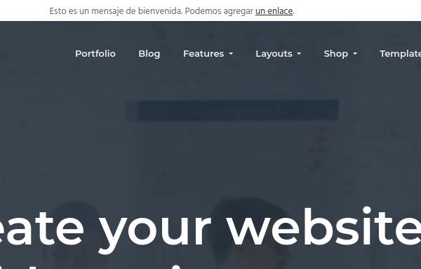 Detalle de la barra de utilidades en Business Pro