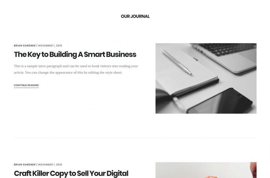 Artículos destacados en la portada de Digital Pro theme