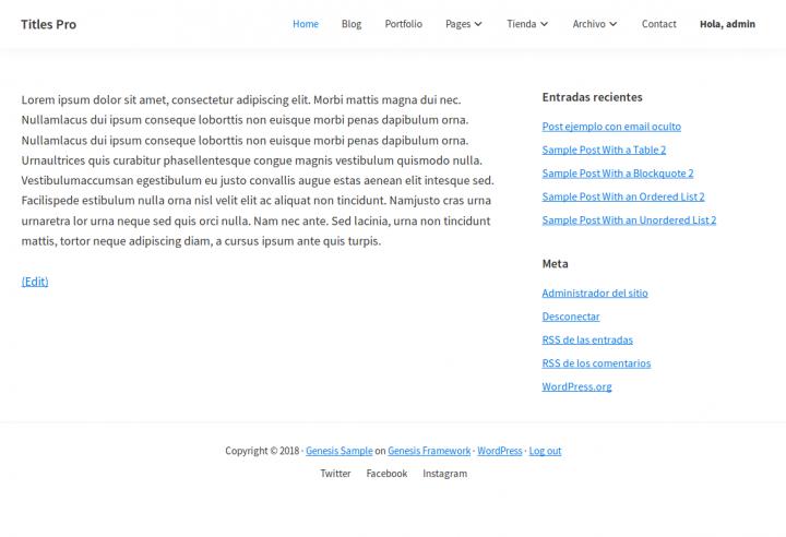 Como agregar un enlace a un menú de WordPress