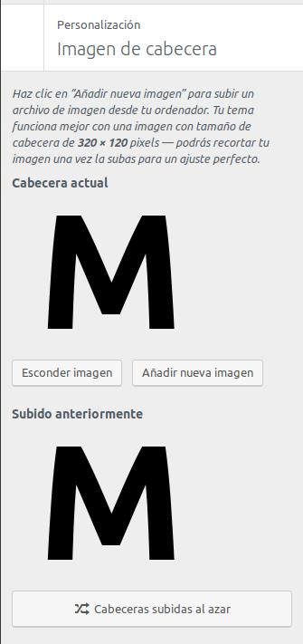 Configuración del logo en Monochrome Pro